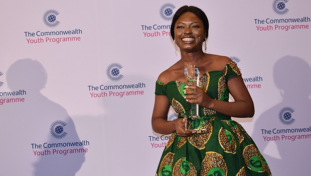The 2019 Commonwealth Young Person of the Year, Oluwaseun Ayodeji Osowobi