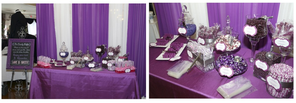 Candy Buffet by SKO Designs. Photos courtesy of Shooting Star Photography.