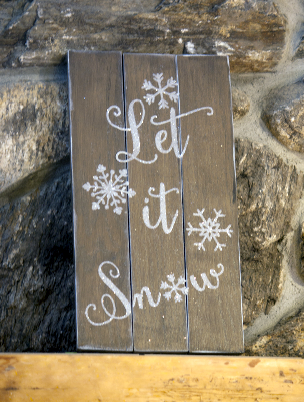 Let it Snow Sign