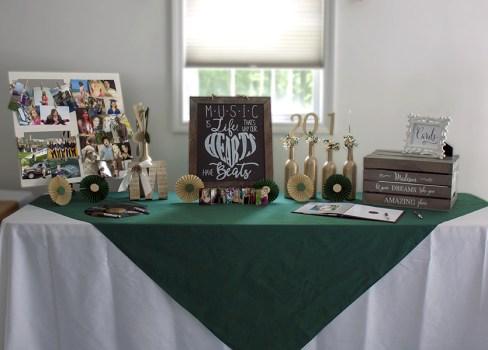 High School Graduation Party Table