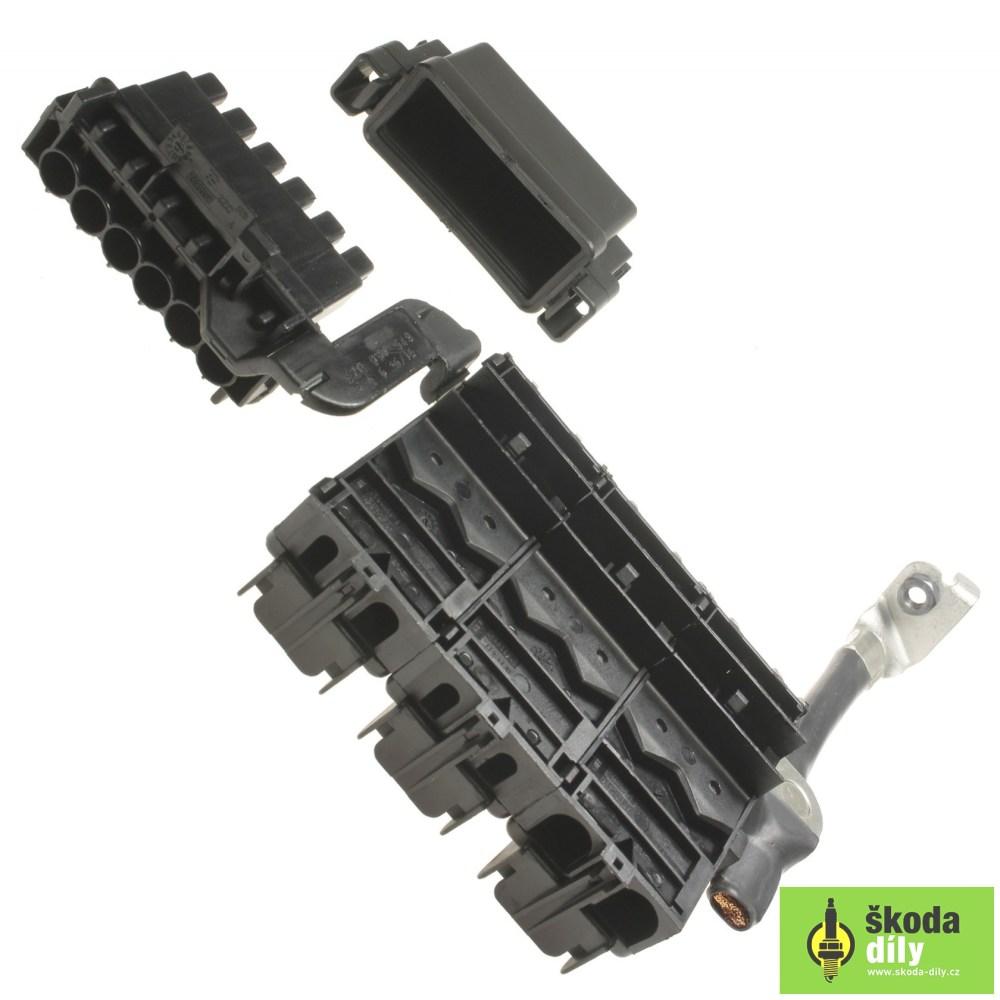 medium resolution of fuse box koda skoda parts com