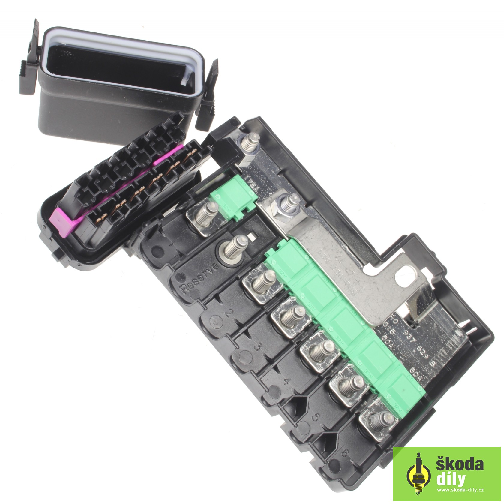 hight resolution of fuse box koda skoda parts com