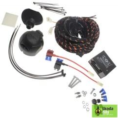 Skoda Octavia Towbar Wiring Diagram For Craftsman Garage Door Opener 1 2 Hp Electric Installation Germany 5e0055316a007