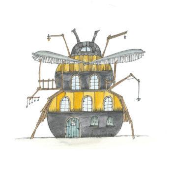 Bumblebee House 800x800