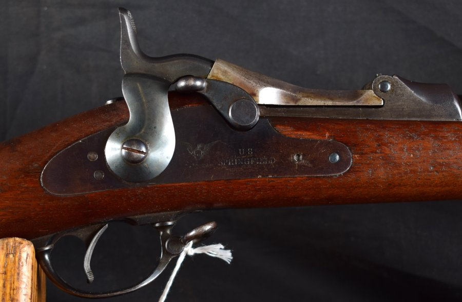 U.S. Springfield TD Military Rifle, M-1873/1884