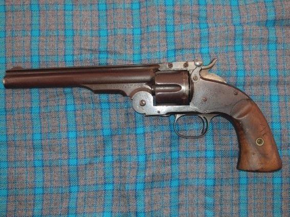Schofield Smith & Wesson 45 Schofield Revolver