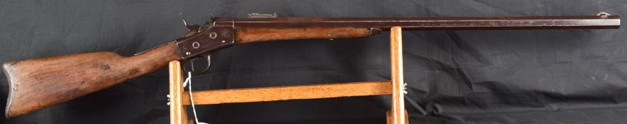 «THE REAL DEAL» BUFFALO RIFLE ROLLING BLOCK 44-77