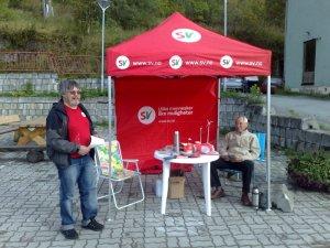 Siste  dag  på  stand  –  god  måling  i  Troms
