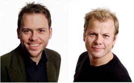 Audun Lysbakken og Heikki Holmås