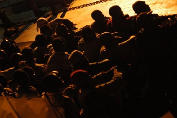 Utanfor Lampedusa i 2007. Foto: Sara Prestiani/noborder networks