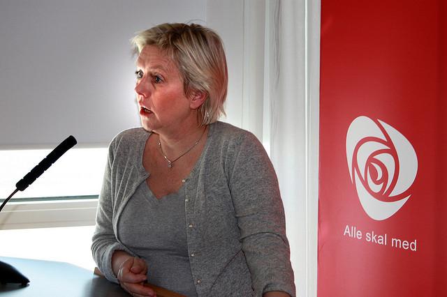 Fylkesrådsleiar Pia Svensgaard har mista fleirtalet sitt på fylkestinget. På tide å tenke alternativt? Foto: Troms Arbeidarparti