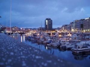 Bodø  er  den  største  tettstaden  i  Nord-Noreg