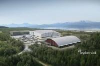 Vi treng betre bade- og svømmeanlegg i kommunen. Men er plasseringa rett? Illustrasjon henta frå nettsidene til Tromsø kommune.
