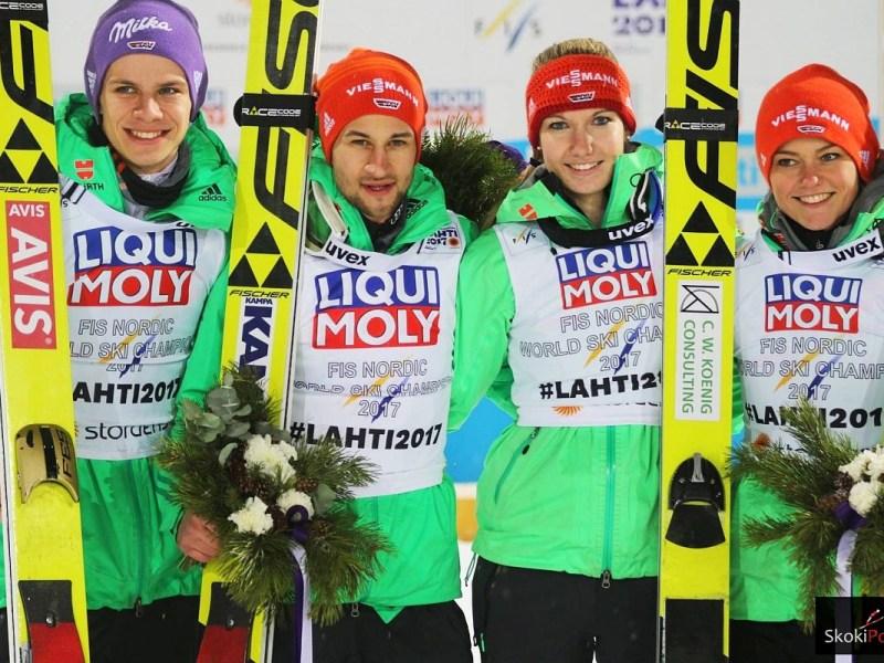MŚ Lahti: Niemcy ze złotym medalem w konkursie drużyn mieszanych!