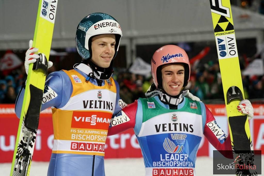 Michael Hayboeck i Stefan Kraft (fot. Julia Piątkowska)