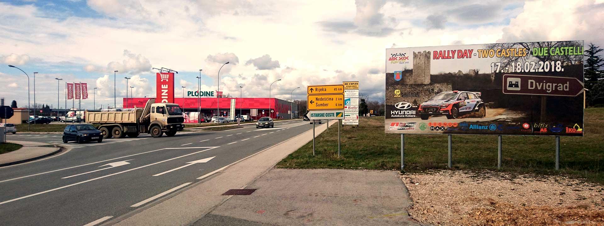 Jumbo plakati Istra - Skok Media
