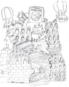 Toren van Babl Ikram Mouhadouch