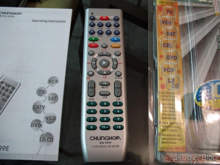 Universal Remote Control 10 Appliances TV / VCR / DVD / VCD / AUX / SAT