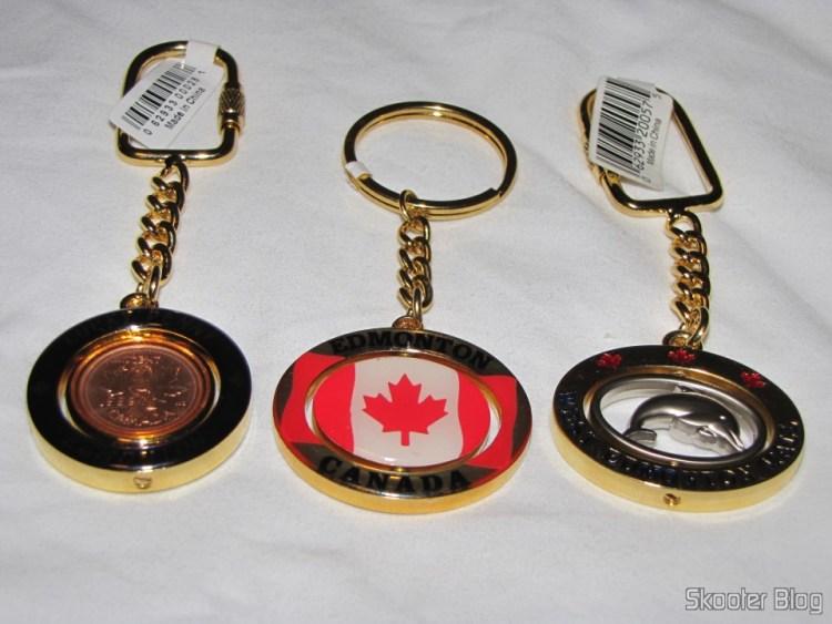 Chaveiros do Canadá