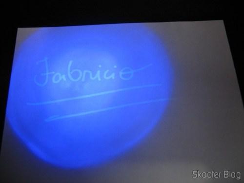 Caneta with color Invisível