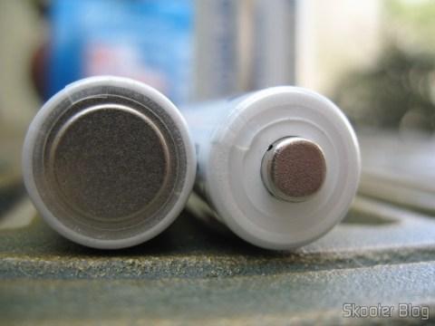 Pilhas AA Recarregáveis Ni-MH 2000 mAh Sanyo Eneloop (pacote com 4)