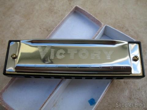 Gaita de Boca com 10 furos Victory (Victory 10-hole Harmonica)