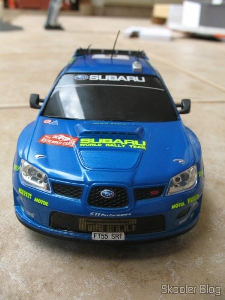 Subaru Impreza WRC2006 da Auldey, visto de frente
