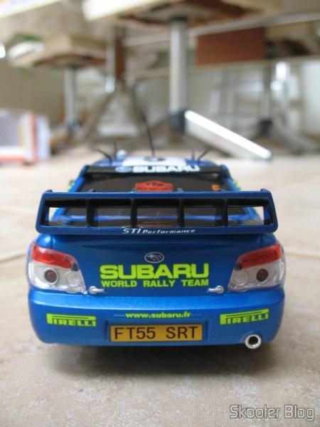 Subaru Impreza WRC2006 da Auldey, visão da traseira