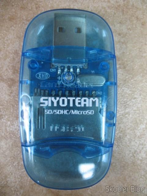 Leitor de Cartões SD/SDHC/MMC/MicroSD da Siyoteam