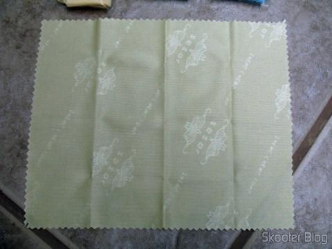 Pano de Limpeza de Microfibra para Telas e Vidros