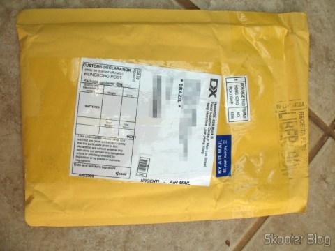 Pacote da DealExtreme: não-registrado e não-tributado