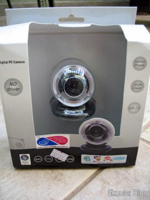 Caixa da webcam Exoo