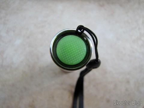 Botão para ligar/desligar/trocar modo na Ultrafire C3