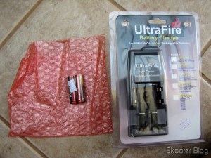 Lithium Batteries 14500 TrustFire and porter UltraFire