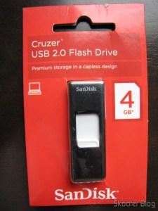 Pendrive Sandisk Cruzer USB 2.0 4GB