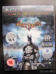Batman: Arkham Asylum Game of The Year Edition - still sealed