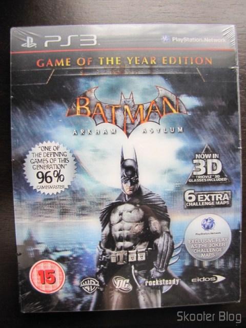 Batman: Arkham Asylum Game of The Year Edition - ainda lacrado