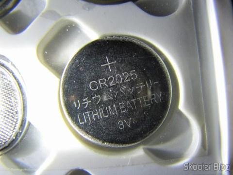 Bateria de lítio 3.0V CR2025