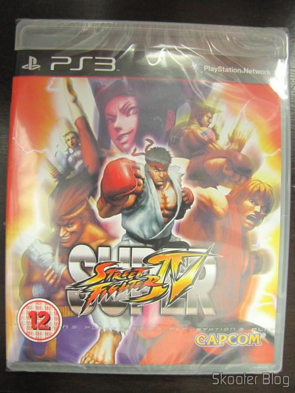 Super Street Fighter IV do PS3, still sealed
