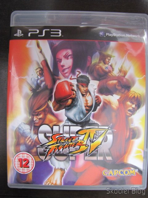 Capa do Super Street Fighter IV do PS3