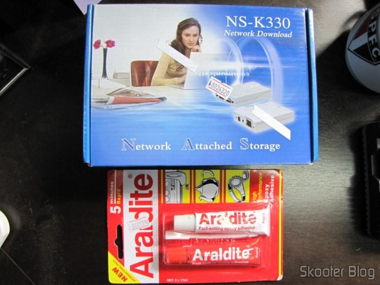 USB Server / NAS / FTP / SAMBA / Print / UPNP / Share + BitTorrent client Epoxy adhesive Araldite AB 5-Minutes (Super Cola)