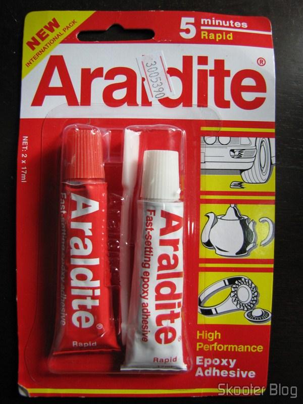 AB Epoxy Adhesive Araldite