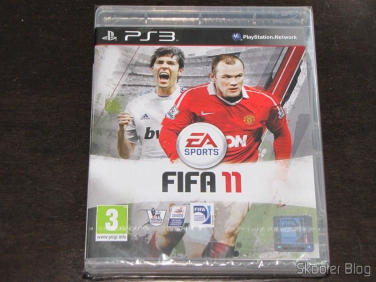 Fifa 11 (PS3) ainda na embalagem lacrada