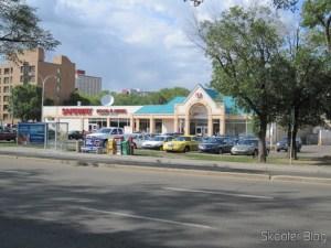 Safeway, o supermercado onde eu fazia a maioria das compras