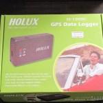 Caixa do Receptor GPS Bluetooth HOLUX M-1000C com Gravador de Log de Viagem, Recarregável