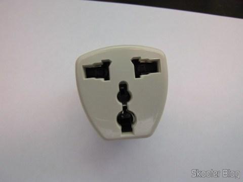 Adaptador de Plug de Energia de Universal para Tipo C