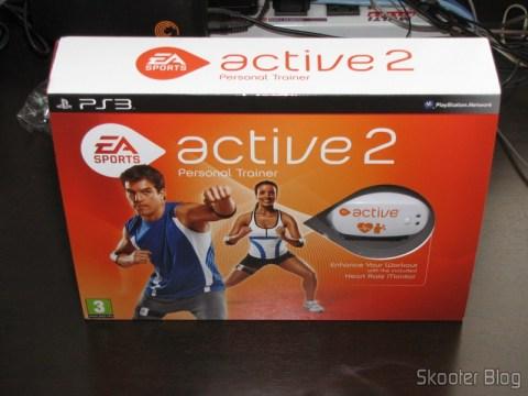 Caixa do EA SPORTS Active 2 do Playstation 3
