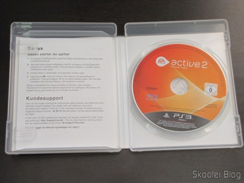 Disco Blu-ray do EA SPORTS Active 2 do Playstation 3