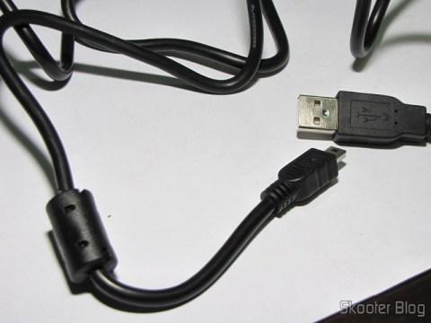 Cabo USB Macho para 5 pinos com 120cm