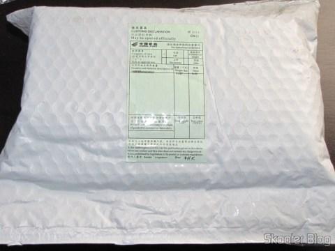 Pacote da DealExtreme com o DICSONG DM-10 - Microfone Condensador com Tripé